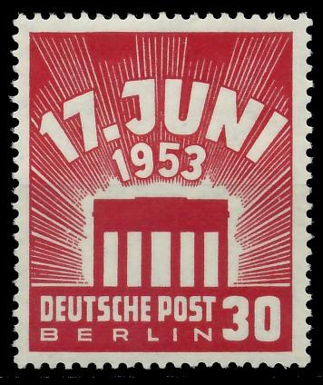 BERLIN 1953 Nr 111 postfrisch 8778AE