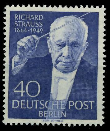 BERLIN 1954 Nr 124 postfrisch 8778B2