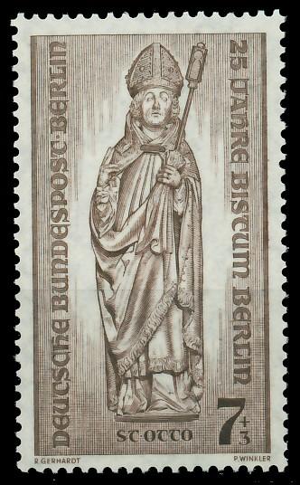 BERLIN 1955 Nr 132 postfrisch 8778E2