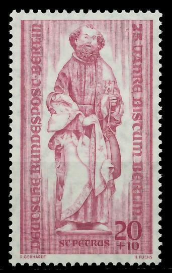 BERLIN 1955 Nr 134 postfrisch 8778EA
