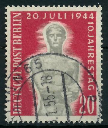 BERLIN 1954 Nr 119 gestempelt 8778F2