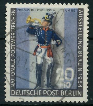 BERLIN 1954 Nr 120a gestempelt 877902