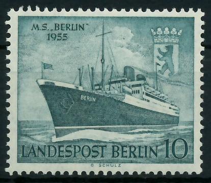 BERLIN 1955 Nr 126 postfrisch 877906