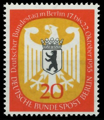 BERLIN 1955 Nr 130 postfrisch 87790A