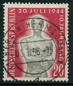 BERLIN 1954 Nr 119 zentrisch gestempelt 877912