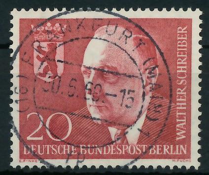 BERLIN 1960 Nr 192 zentrisch gestempelt 877A3E