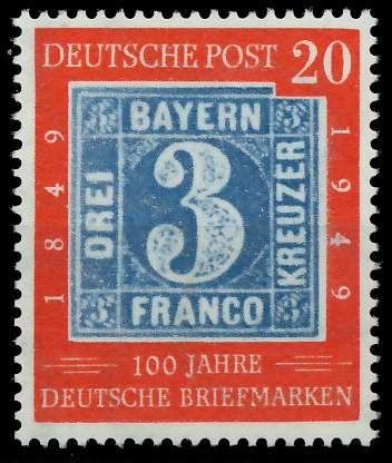 BRD 1949 Nr 114 postfrisch 877D56