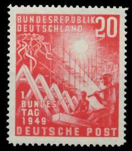 BRD 1949 Nr 112 postfrisch 877D62