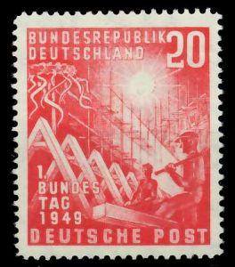 BRD 1949 Nr 112 postfrisch 877EF6