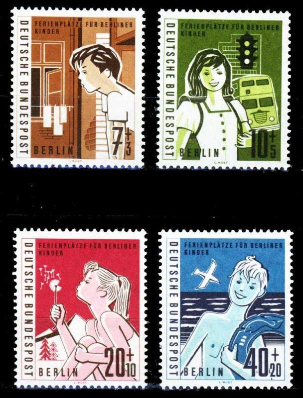 BERLIN 1960 Nr 193-196 postfrisch S7F8262