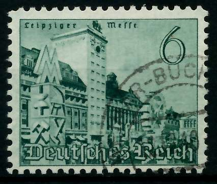 DEUTSCHES REICH 1940 Nr 740 gestempelt 87C3CE