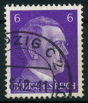 DEUTSCHES REICH 1941 Nr 785 gestempelt 87C47A