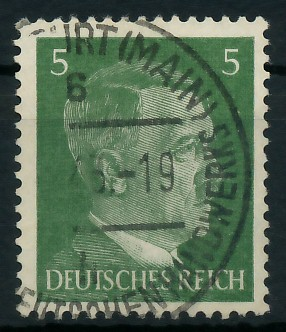 DEUTSCHES REICH 1941 Nr 784a gestempelt 87C47E