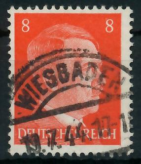 DEUTSCHES REICH 1941 Nr 786 gestempelt 87C486