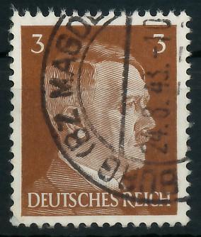 DEUTSCHES REICH 1941 Nr 782 gestempelt 87C48A