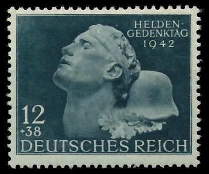 DEUTSCHES REICH 1942 Nr 812 postfrisch 87C542