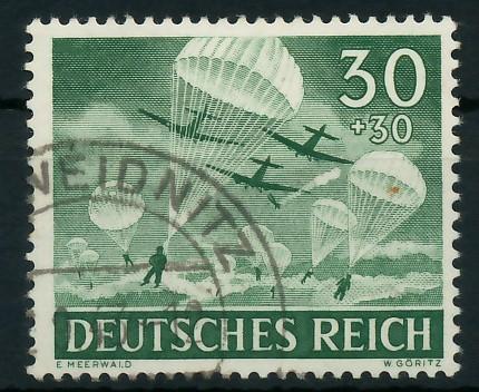 DEUTSCHES REICH 1943 Nr 840 gestempelt 87C56A