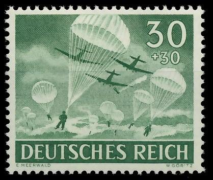 DEUTSCHES REICH 1943 Nr 840 postfrisch 87C582