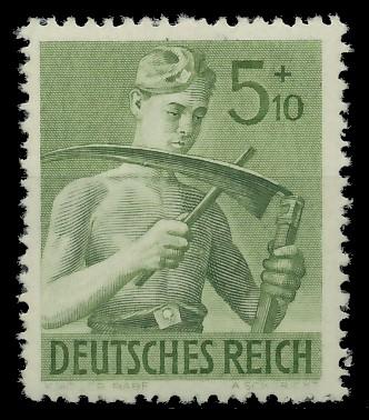 DEUTSCHES REICH 1943 Nr 851 postfrisch 87C5AE