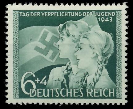 DEUTSCHES REICH 1943 Nr 843 postfrisch 87C5BA