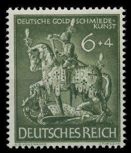 DEUTSCHES REICH 1943 Nr 860 postfrisch 87C5DA