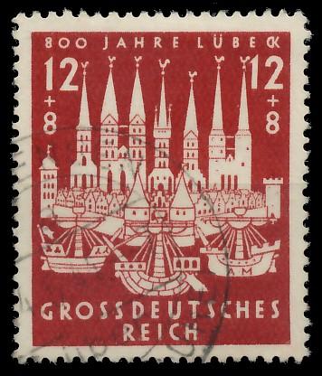 DEUTSCHES REICH 1943 Nr 862 gestempelt 87C5DE