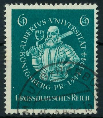 DEUTSCHES REICH 1944 Nr 896 gestempelt 87C6BA