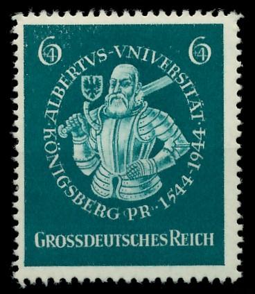 DEUTSCHES REICH 1944 Nr 896 postfrisch 87C6BE