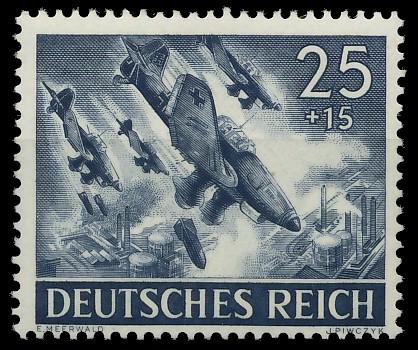 DEUTSCHES REICH 1943 Nr 839 postfrisch 87C722
