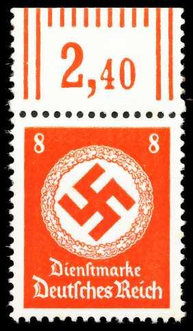 DEUTSCHES-REICH DIENST Nr 170aWOR postfrisch ORA 64338A
