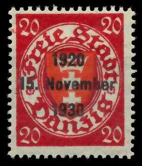 DANZIG 1930 Nr 223 ungebraucht 880142