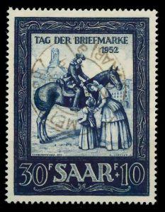 SAARLAND 1952 Nr 316 zentrisch gestempelt 8845FA