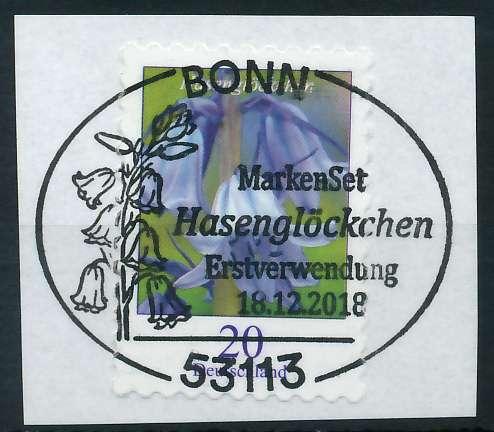 BRD DS BLUMEN Nr 3432 ESST zentrisch gestempelt Briefst³ck 886202