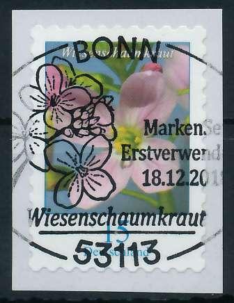 BRD DS BLUMEN Nr 3431 ESST zentrisch gestempelt 88621A