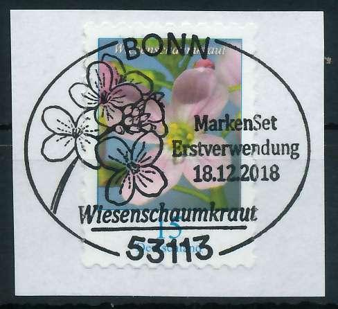 BRD DS BLUMEN Nr 3431 ESST zentrisch gestempelt Briefst³ck 88623A