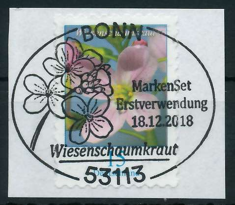 BRD DS BLUMEN Nr 3431 ESST zentrisch gestempelt Briefst³ck 886266