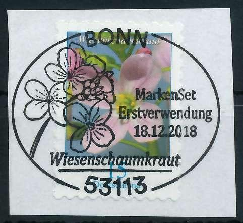 BRD DS BLUMEN Nr 3431 ESST zentrisch gestempelt Briefst³ck 88626A