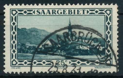 SAARGEBIET 1926 Nr 111 gestempelt 88651A
