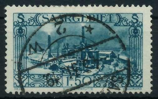 SAARGEBIET 1926 Nr 118 gestempelt 886532