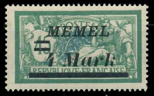 MEMEL 1922 Nr 91 ungebraucht 887622