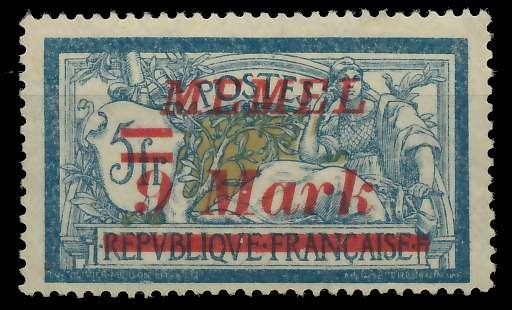 MEMEL 1922 Nr 71 ungebraucht 887636