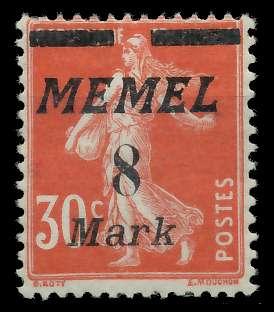 MEMEL 1922 Nr 112 ungebraucht 887782