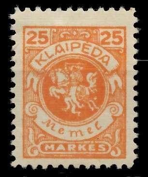 MEMEL 1923 Nr 143 ungebraucht 8877F2