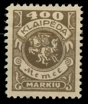 MEMEL 1923 Nr 148 ungebraucht 8877FA