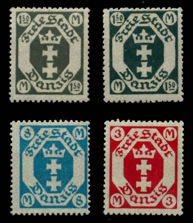 DANZIG Nr 103-105 postfrisch 6BE0C6