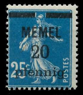 MEMEL 1920 Nr 20b postfrisch 887D8A