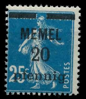 MEMEL 1920 Nr 20b postfrisch 887D9A