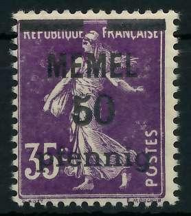MEMEL 1920 Nr 23a postfrisch 887DB2