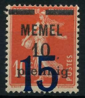 MEMEL 1921 Nr 34 postfrisch 887DC6
