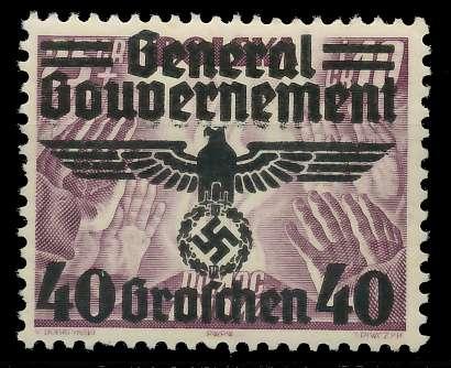 GENERALGOUVERNEMENT Nr 31 postfrisch 889E3E